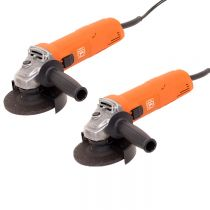69908107030, FEIN WSG 7-115, 760w Compact Angle Grinder 4-1/2in, 2-Pack