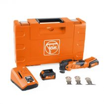 71293261090, Fein MULTIMASTER AMM300 Plus Start Set, Cordless oscillating multi-tool