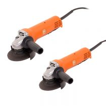 69908107040, Fein WSG 7-115 PT, 820w Compact Angle Grinder 4-1/2in, 2 Pack