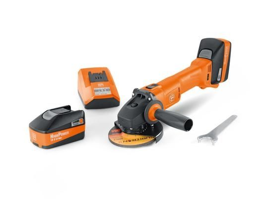 71200261090, Fein CCG 18-125 BL Select Cordless angle grinder, 5in