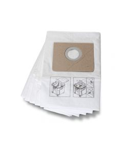 31345062010, Fein Turbo II Fleece Filter Bags (Pack of 5)