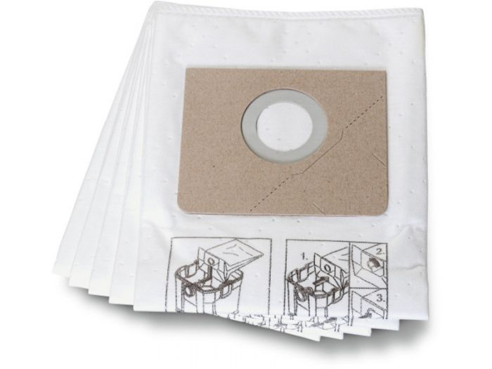 31345061010, Fein Turbo I Fleece Filter Bags (Pack of 5)